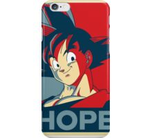 goku is our only HOPE! iPhone Case/Skin