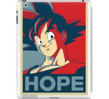 goku is our only HOPE! iPad Case/Skin