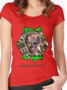 Computer Virus (The Abysmal Entrapment) Women's Fitted Scoop T-Shirt