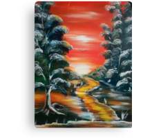 Path to Freedom Canvas Print