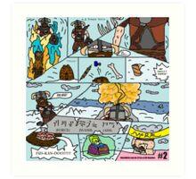 Fus-Kan-Doo Art Print