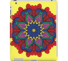 Abstract flower vector figure iPad Case/Skin