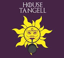 """""""House Tangell"""" - Disney Meets Game of Thrones Womens Fitted T-Shirt"""