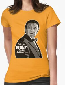 Mr Wolf Womens Fitted T-Shirt