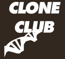Clone Club (White Lettering) by linked-pinkies