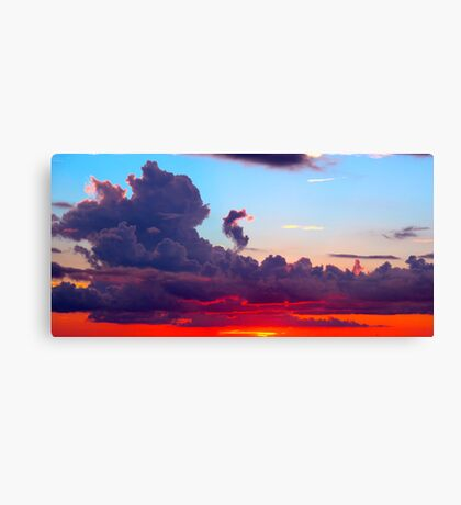 Vibrant Cloudscape  Canvas Print