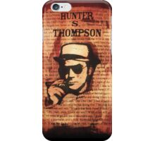 Hunter.S.Thompson. iPhone Case/Skin