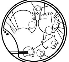 Time And Relative Dimensions In Space by Gallifreyan-Ink