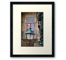 The witness of time Framed Print
