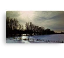 Forsaken: Winter of Our Discontent  by Alma Lee Canvas Print