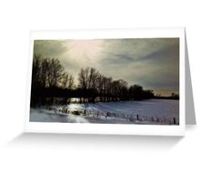 Forsaken: Winter of Our Discontent  by Alma Lee Greeting Card