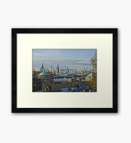 gate to the world Framed Print