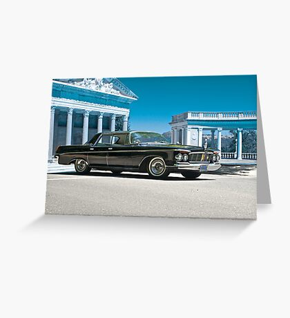 1963 Chrysler Imperial Greeting Card