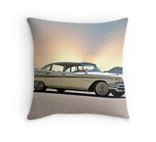 1959 Desoto Fireflite Sportsman Throw Pillow