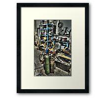 Garage Mentality Framed Print