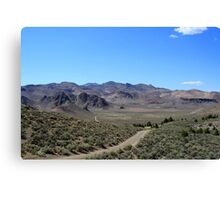 Desert Valley, Reno Nevada USA Canvas Print