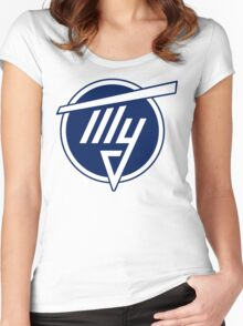 Tupolev Aircraft Logo (Blue) Women's Fitted Scoop T-Shirt