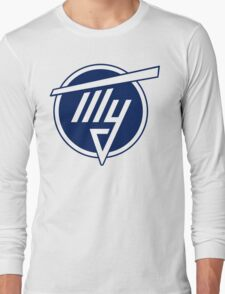 Tupolev Aircraft Logo (Blue) Long Sleeve T-Shirt