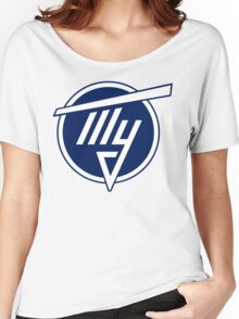Tupolev Aircraft Logo (Blue) Women's Relaxed Fit T-Shirt