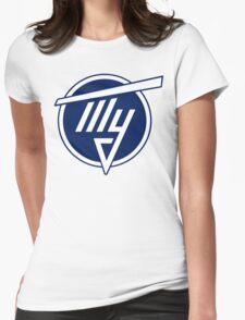 Tupolev Aircraft Logo (Blue) Womens Fitted T-Shirt