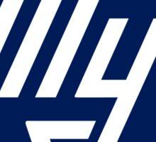 Tupolev Aircraft Logo (Blue) Sticker