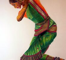 Indian dance I by Heaven7