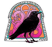 Raven and Runestoe by Zehda