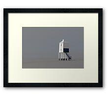 The Wooden Lighthouse Framed Print