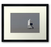 The Wooden Lighthouse Framed Print