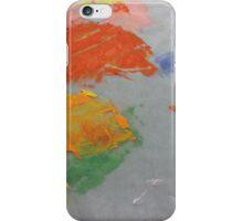 Paint Splat on Wax Paper iPhone Case/Skin
