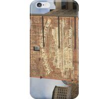 Washington State Ferries Brick Wall iPhone Case/Skin