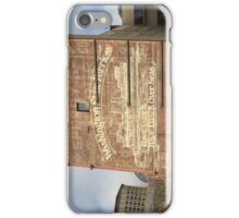 Washington State Ferries Brick Wall iPhone Case/Skin