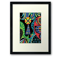 Mojo black Framed Print