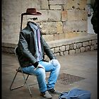 Busker - Barcelona  by rsangsterkelly