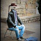 Busker - Barcelona  by rsangsterkelly