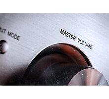 Master Volume Photographic Print