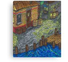 Pirate Cove (panel 2) Canvas Print