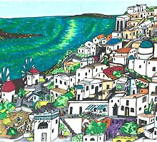 Greek Islands by TadHuck