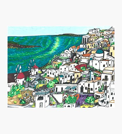 Greek Islands Photographic Print
