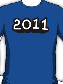 """SHIRT 76 / 100 - """"2011"""" T-Shirt"""