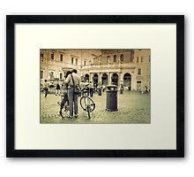 love in Rome Framed Print
