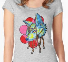 strawberry moon Women's Fitted Scoop T-Shirt