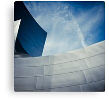 Los Angeles - Walt Disney Concert Hall Canvas Print