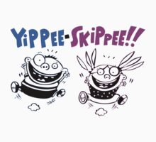 "Yippee Skippee ""Oh Joy"" Jump For Joy T-Shirt by artkrannie"