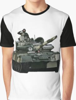 Tank and Soldiers Graphic T-Shirt