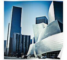 Los Angeles - Walt Disney Concert Hall Poster