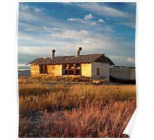 Past Dreams, California Desert Poster