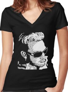 Layne Staley 'Would?' tee Women's Fitted V-Neck T-Shirt