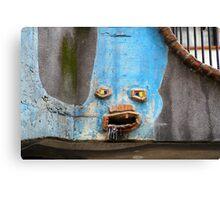 Faces of the Hundertwasserhaus Canvas Print