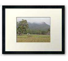 Rural Australia, Megalong Valley Framed Print
